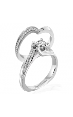Claude Thibaudeau Just Released Engagement ring PLT-1955-MP product image
