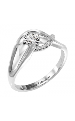 Claude Thibaudeau Petite Designs Engagement ring PLT-1886-MP product image