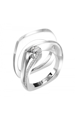 Claude Thibaudeau Petite Designs Engagement Ring PLT-1896-MP product image