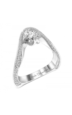 Claude Thibaudeau Petite Designs Engagement ring PLT-1915-MP product image