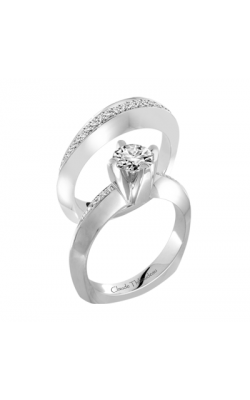 Claude Thibaudeau Petite Designs Engagement ring PLT-1917-MP product image