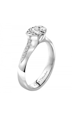 Claude Thibaudeau Petite Designs Engagement ring PLT-1875-MP product image