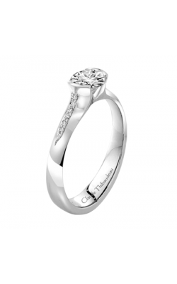 Claude Thibaudeau Petite Designs Engagement ring PLT-1874-MP product image