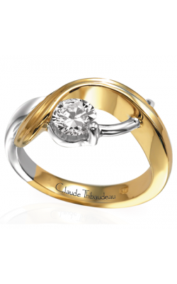 Claude Thibaudeau Petite Designs Engagement Ring PLT-2117 product image