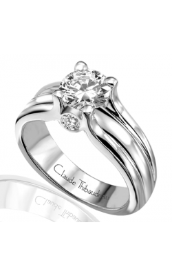 Claude Thibaudeau Petite Designs Engagement Ring PLT-1483 product image