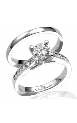 Claude Thibaudeau Petite Designs Engagement Ring PLT-1521 product image