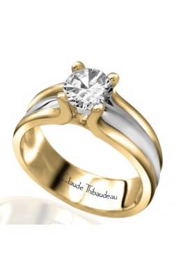 Claude Thibaudeau Petite Designs Engagement Ring PLT-2413 product image