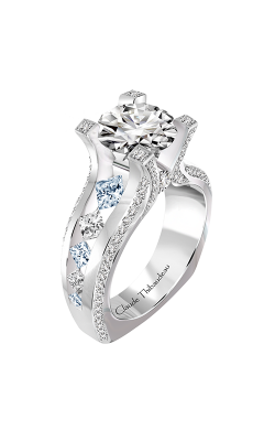 Claude Thibaudeau La Royale Engagement Ring PLT-10193-MP-SE product image