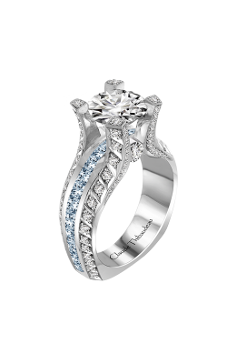 Claude Thibaudeau La Royale Engagement Ring MODPLT-10047-MP-BDT product image