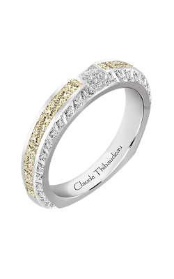 Claude Thibaudeau  Just Released Wedding Band PLT-10047-JC-Y product image