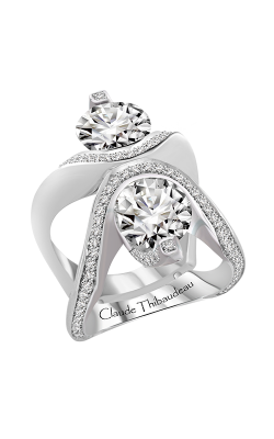 Claude Thibaudeau Just Released Engagement Ring PLT-10172-MP product image