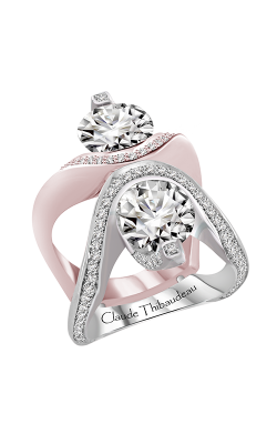 Claude Thibaudeau Just Released Engagement Ring PLT-10172R-MP  product image