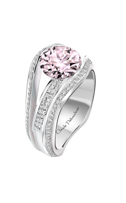 Claude Thibaudeau Just Released Engagement Ring PLT-10203-MP-PD product image