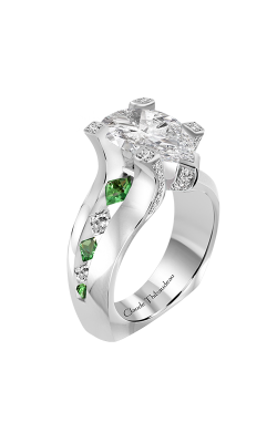 Claude Thibaudeau La Royale Engagement Ring PLT-10204-MPT product image