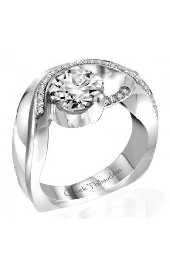Claude Thibaudeau Pure Perfection Engagement ring PLT-10010-MP product image