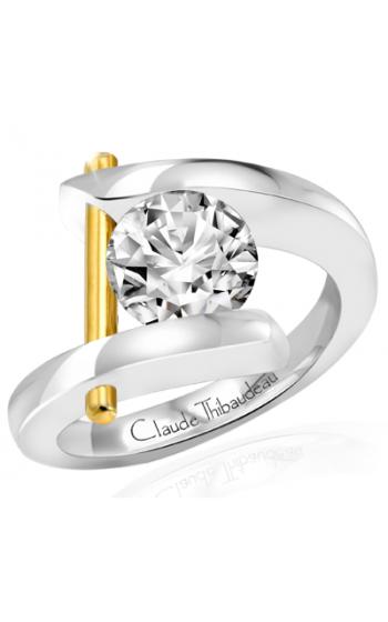 Claude Thibaudeau Pure Perfection Engagement ring PLT-165 product image