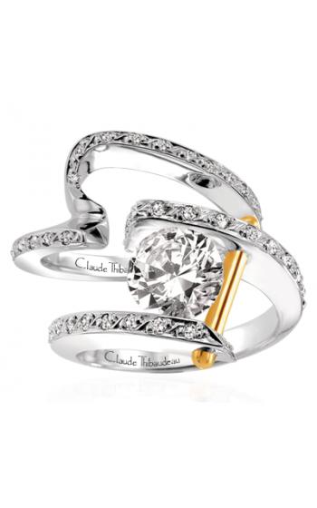 Claude Thibaudeau Pure Perfection Engagement ring PLT-13-SE product image