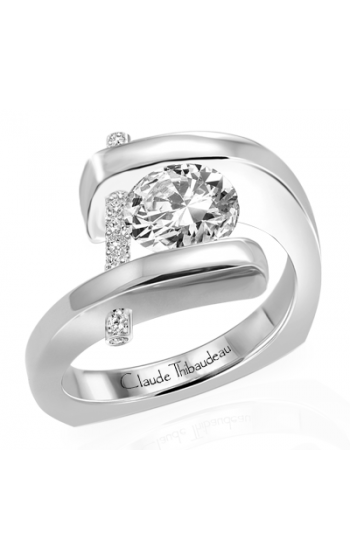 Claude Thibaudeau Pure Perfection Engagement ring PLT-1815-MP product image
