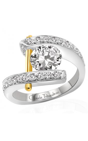 Claude Thibaudeau Pure Perfection Engagement ring PLT-1786-MP product image