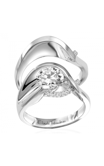Claude Thibaudeau Pure Perfection Engagement ring PLT-1245-MP product image