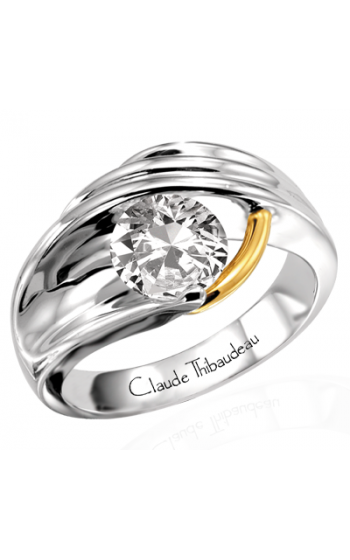 Claude Thibaudeau Pure Perfection Engagement Ring PLT-1124 product image