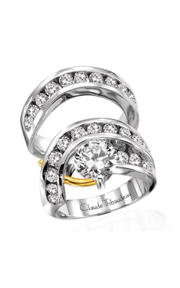 Claude Thibaudeau Pure Perfection Engagement Ring PLT-1112 product image