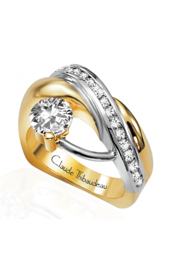 Claude Thibaudeau Pure Perfection Engagement Ring PLT-2210 product image