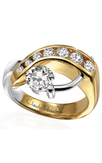 Claude Thibaudeau Pure Perfection Engagement ring PLT-2121 product image