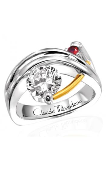 Claude Thibaudeau Pure Perfection Engagement Ring PLT-117 product image