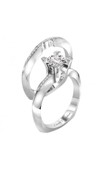 Claude Thibaudeau La Royale Engagement Ring PLT-1963-MP product image
