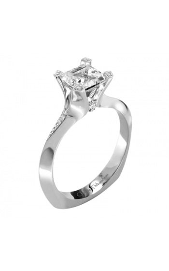Claude Thibaudeau La Royale Engagement ring PLT-1910-MP product image
