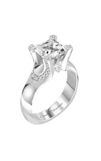 Claude Thibaudeau La Royale Engagement Ring PLT-1905-MP product image