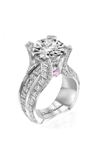 Claude Thibaudeau La Royale Engagement ring MODPLT-1982-MP-PD product image