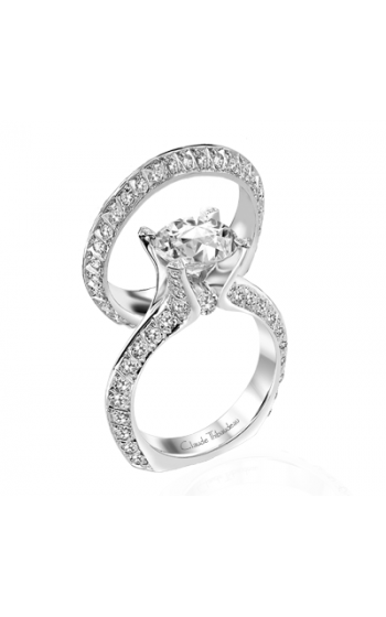 Claude Thibaudeau La Royale Engagement Ring MODPLT-1682 product image