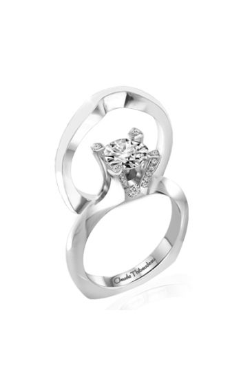 Claude Thibaudeau La Royale Engagement ring MODPLT-1714 product image