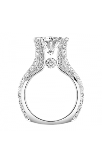 Claude Thibaudeau La Royale Engagement ring MODPLT-1961-MP product image