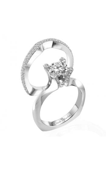 Claude Thibaudeau La Royale Engagement ring MODPLT-1733 product image