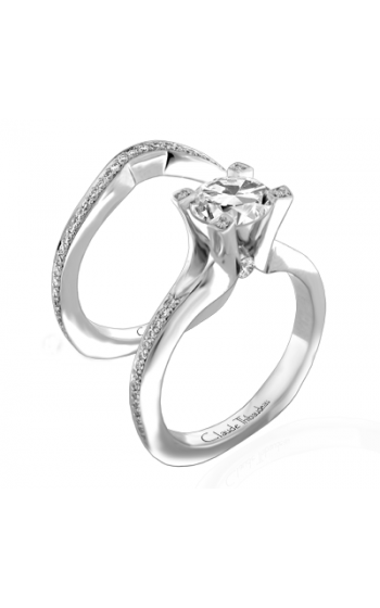 Claude Thibaudeau La Royale Engagement ring PLT-1842-MP product image