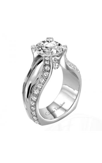 Claude Thibaudeau La Royale Engagement Ring MODPLT-1600 product image