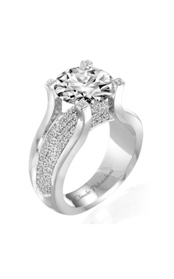 Claude Thibaudeau La Royale Engagement Ring PLT-1829-MP product image