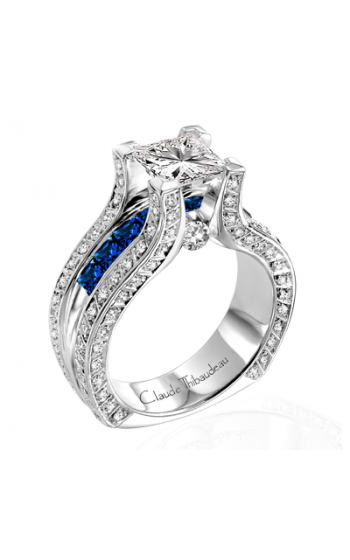 Claude Thibaudeau La Royale Engagement Ring MODPLT-1638 product image