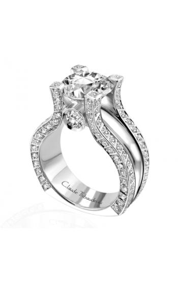 Claude Thibaudeau La Royale Engagement Ring MODPLT-1532 product image