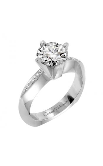 Claude Thibaudeau European Micro-Pave Engagement ring PLT-1870-MP product image
