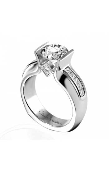 Claude Thibaudeau La Cathedrale Engagement ring PLT-1512 product image