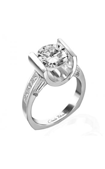 Claude Thibaudeau La Cathedrale Engagement ring PLT-1330 product image