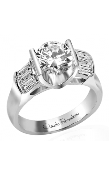 Claude Thibaudeau La Cathedrale Engagement Ring PLT-1256 product image