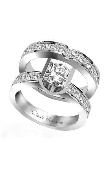 Claude Thibaudeau La Cathedrale Engagement Ring PLT-1335 product image
