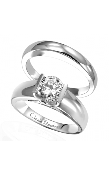 Claude Thibaudeau La Cathedrale Engagement ring PLT-1437 product image