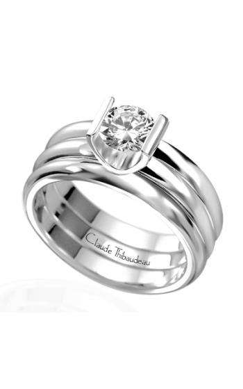 Claude Thibaudeau La Cathedrale Engagement ring PLT-1339 product image