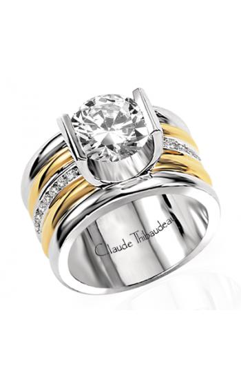 Claude Thibaudeau La Cathedrale Engagement ring PLT-1249 product image